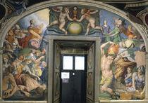 A.Bronzino, Moses schlaegt Wasser u.Manna von AKG  Images