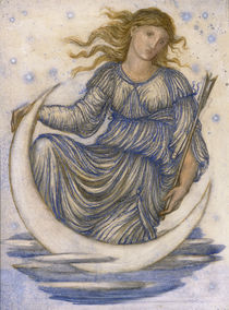 E.Burne Jones, Luna by AKG  Images