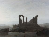 C.D.Friedrich, Junotempel Agrigent/1830 von AKG  Images