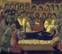 Duccio, Tod Mariae von AKG  Images