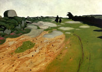 F.Vallotton, Bretonische Heidelandsch. by AKG  Images