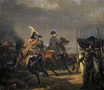 Napoleon bei Jena/Gem. H.Vernet 1836 von AKG  Images