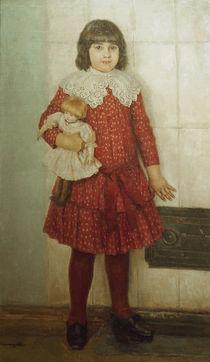 W.I.Surikow / Bildnis der Tochter Olga von AKG  Images
