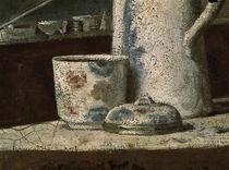 J.B.S.Chardin, Rauchnecessaire / Detail von AKG  Images