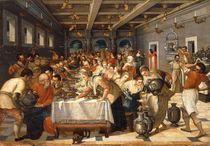 nach Tintoretto, Hochzeit zu Kana by AKG  Images