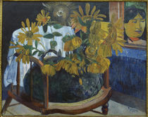 Gauguin, Sonnenblumen auf Sessel II/1901 von AKG  Images
