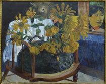 Gauguin, Sonnenblumen auf Sessel II/1901 by AKG  Images