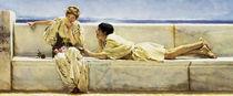 L.Alma Tadema, Eine Frage von AKG  Images