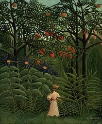 H.Rousseau, Femme se promenant.. von AKG  Images