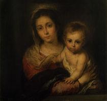 Murillo, Maria mit dem Kind von AKG  Images