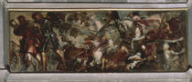 Tintoretto, Rochus in der Schlacht by AKG  Images
