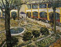 V.van Gogh, Garten des Hospitals in Arl. by AKG  Images