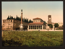 Rom, S.Lorenzo fuori le Mura /Photochrom by AKG  Images