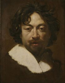 Simon Vouet, Selbstbildnis / Gemaelde by AKG  Images