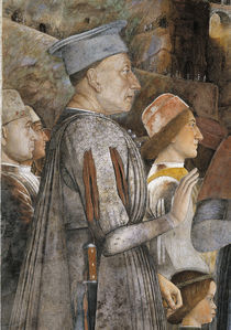 Lodovico Gonzaga, Ausschn. / A.Mantegna von AKG  Images