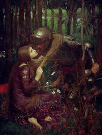J.W.Waterhouse, La Belle Dame sans Merci by AKG  Images