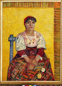 Van Gogh / Die Italienerin / 1887 by AKG  Images