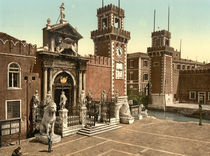 Venedig, Arsenal / Photochrom by AKG  Images