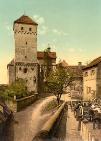 Nuernberg, Burg / Heidenturm / Photochrom by AKG  Images