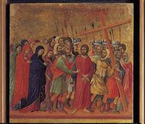 Duccio, Die Kreuztragung von AKG  Images