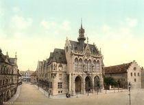 Erfurt, Rathaus / Photochrom by AKG  Images