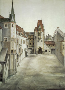 A.Duerer, Hof der Burg zu Innsbruck von AKG  Images