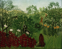 H.Rousseau, Tropischer Wald mit Affen by AKG  Images
