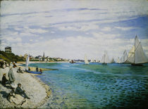 C.Monet, Regatta in Sainte Adresse by AKG  Images