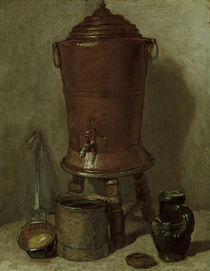 J.B.S.Chardin, Der Trinkwasserkessel by AKG  Images