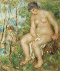 Auguste Renoir, Die Badende by AKG  Images