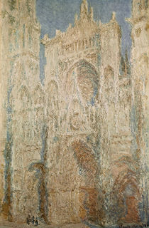 C.Monet, Kathedrale Rouen Westfassade by AKG  Images