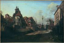 Warschau,Berhardinerinnenkirche/Bellotto von AKG  Images