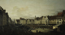 Dresden, Altmarkt / Bellotto by AKG  Images