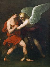 L.Giordano, Kampf Jakobs mit dem Engel by AKG  Images