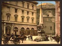 Rom, Piazza della Minerva, Obelisk/Foto von AKG  Images