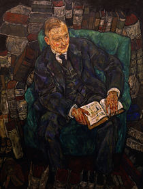 Hugo Koller / Gem.v.Egon Schiele von AKG  Images