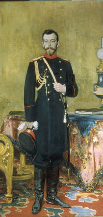 Nikolaus II. von Russland / Repin 1895 von AKG  Images