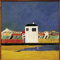 K.Malewitsch, Landschaft mit weissem Haus von AKG  Images