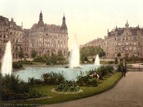 Koeln, Deutscher Ring / Photochrom by AKG  Images