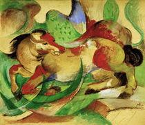 Franz Marc, Springendes Pferd by AKG  Images