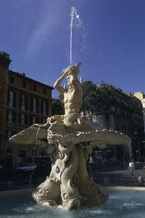 Rom, Fontana del Tritone / Foto by AKG  Images