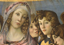 S.Botticelli, Maria und Engel by AKG  Images