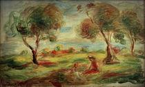 A.Renoir, Landschaft bei Cagnes sur Mer von AKG  Images