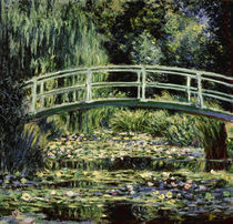 C.Monet, Der Seerosenteich (Moskau) by AKG  Images