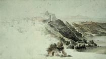 Castel Gandolfo / Zchng. von Ingres von AKG  Images
