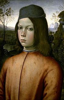 Pinturicchio/ Bildnis eines Knaben/ 1480 by AKG  Images