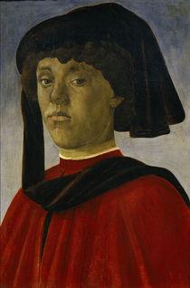 S.Botticelli, Bildnis eines jung.Mannes by AKG  Images