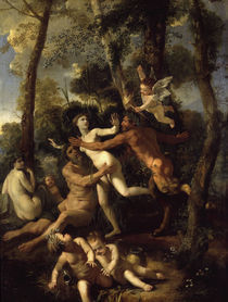 Nic. Poussin, Pan und Syrinx by AKG  Images