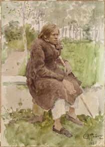 Ilja Repin, Der Krueppel/ 1880 von AKG  Images