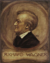 Richard Wagner, Gem. von Franz v.Stuck von AKG  Images